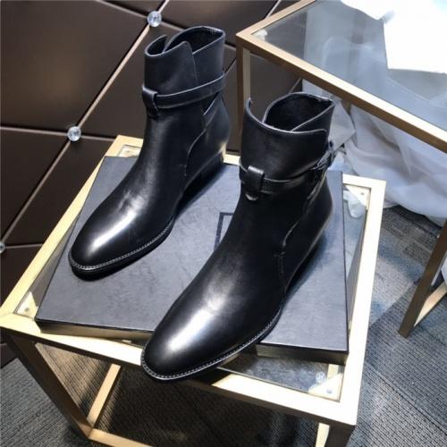 Yves Saint Laurent Boots For Men #814246 $112.00 USD, Wholesale Replica Yves Saint Laurent Boots