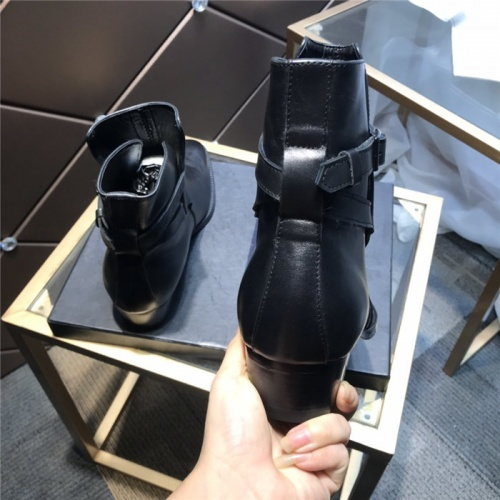 Replica Yves Saint Laurent Boots For Men #814246 $112.00 USD for Wholesale