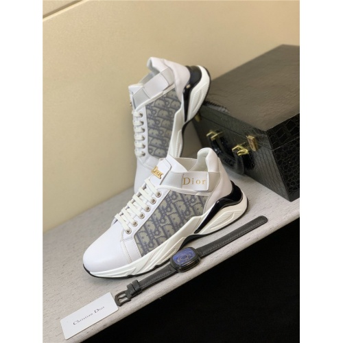 Christian Dior Casual Shoes For Men #814279 $76.00, Wholesale Replica Christian Dior Casual Shoes