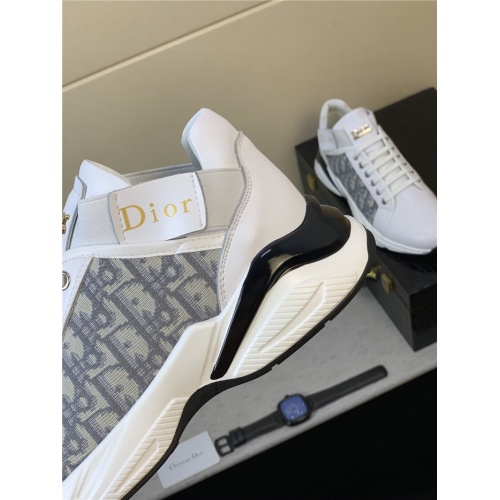 Replica Christian Dior Casual Shoes For Men #814279 $76.00 USD for Wholesale