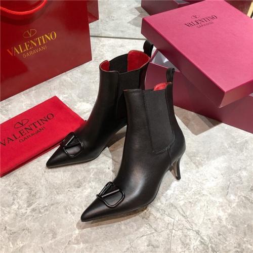 Valentino Boots For Women #814335 $92.00, Wholesale Replica Valentino Boots