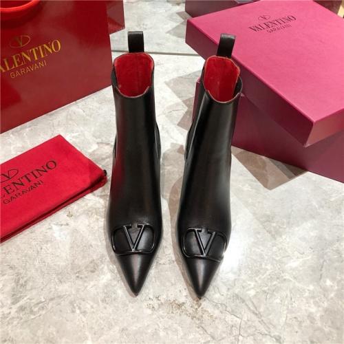 Replica Valentino Boots For Women #814335 $92.00 USD for Wholesale