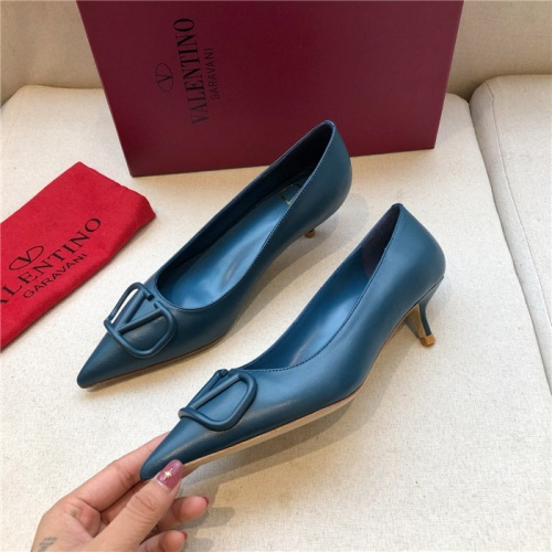 Valentino High-Heeled Shoes For Women #814342