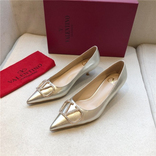 Valentino High-Heeled Shoes For Women #814347