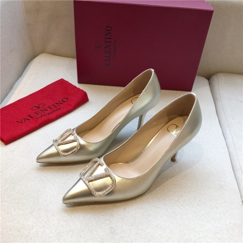 Valentino High-Heeled Shoes For Women #814348
