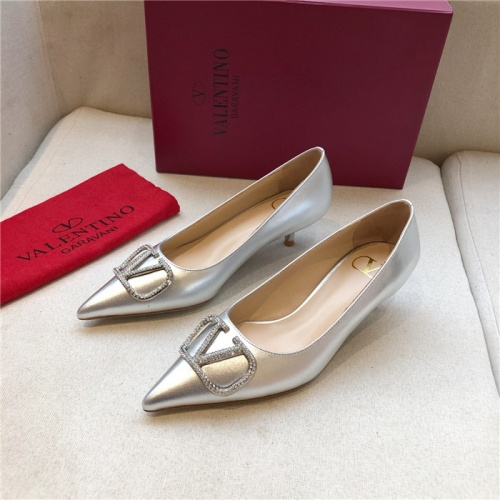 Valentino High-Heeled Shoes For Women #814354