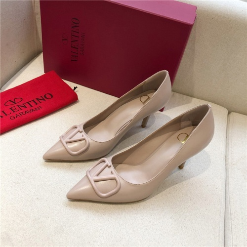 Valentino High-Heeled Shoes For Women #814369