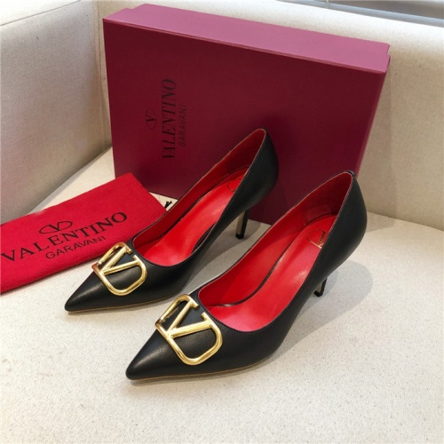 Valentino High-Heeled Shoes For Women #814376