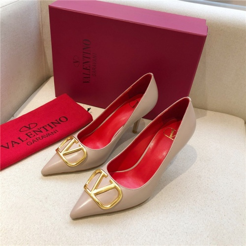 Valentino High-Heeled Shoes For Women #814381