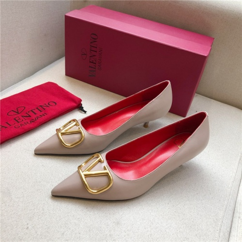 Valentino High-Heeled Shoes For Women #814382