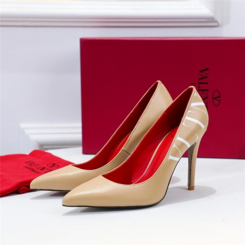 Valentino High-Heeled Shoes For Women #814388