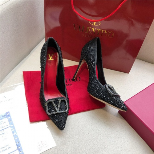 Valentino High-Heeled Shoes For Women #814391