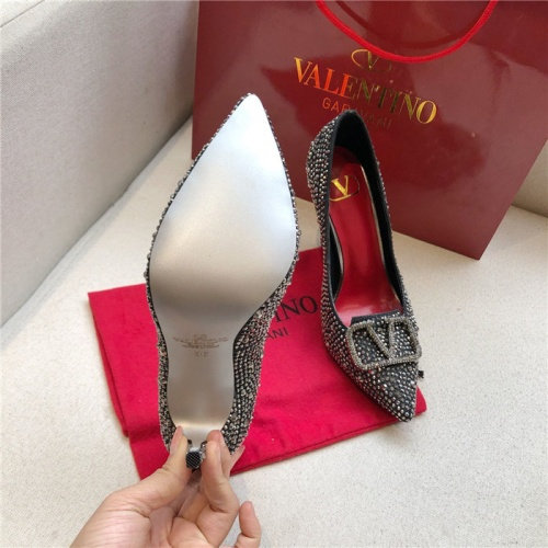 Replica Valentino High-Heeled Shoes For Women #814392 $80.00 USD for Wholesale