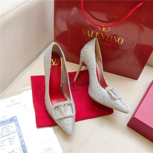 Valentino High-Heeled Shoes For Women #814393