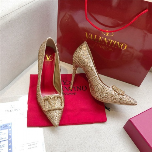 Valentino High-Heeled Shoes For Women #814394