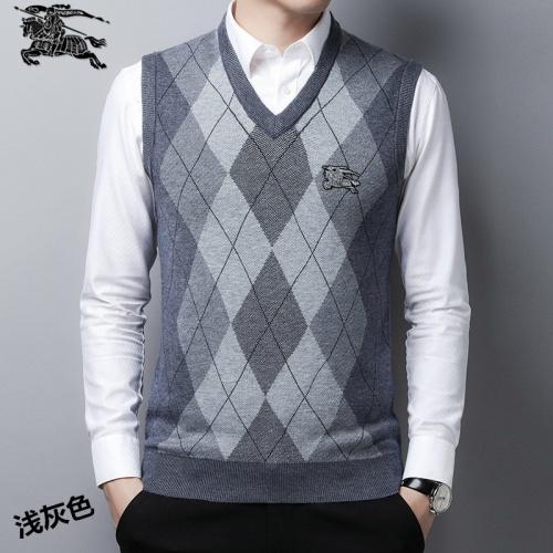 Burberry Sweaters Sleeveless V-Neck For Men #814401