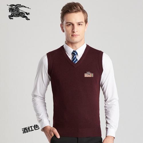 Burberry Sweaters Sleeveless V-Neck For Men #814425