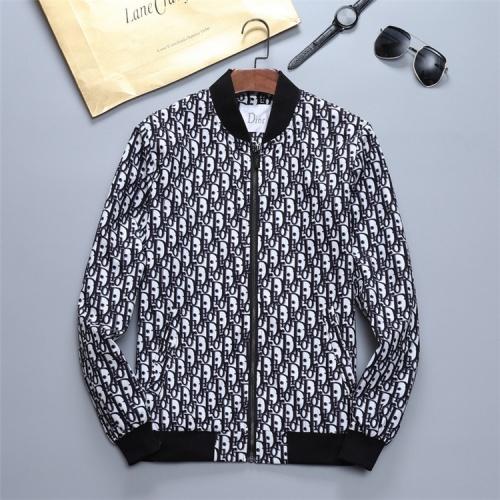Christian Dior Jackets Long Sleeved Zipper For Men #814432