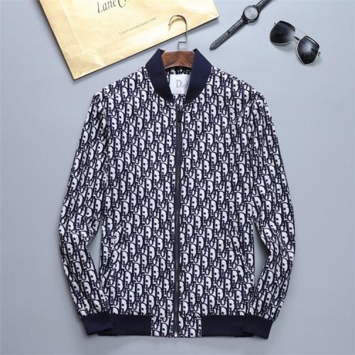 Christian Dior Jackets Long Sleeved Zipper For Men #814433