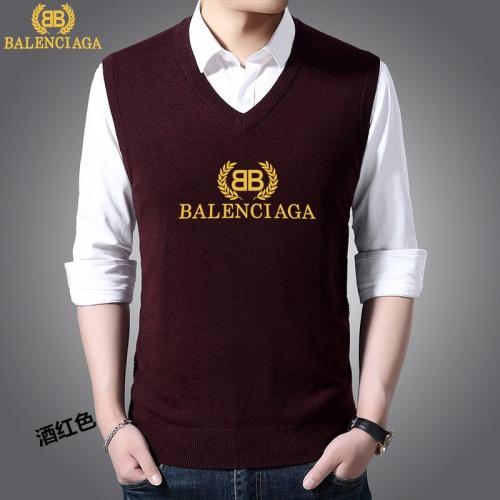 Balenciaga Sweaters Sleeveless V-Neck For Men #814470
