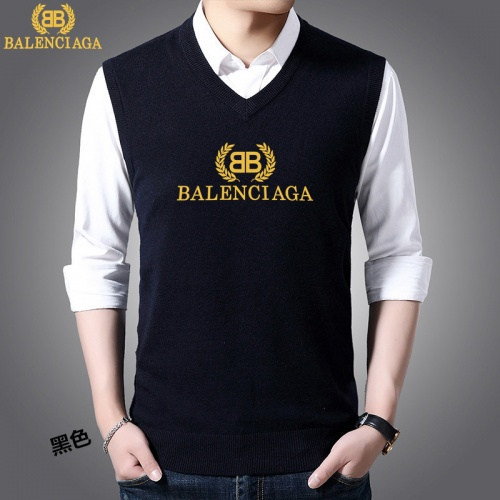 Balenciaga Sweaters Sleeveless V-Neck For Men #814471