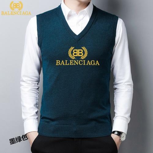 Balenciaga Sweaters Sleeveless V-Neck For Men #814475