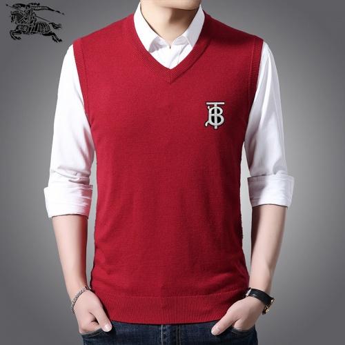 Burberry Sweaters Sleeveless V-Neck For Men #814486