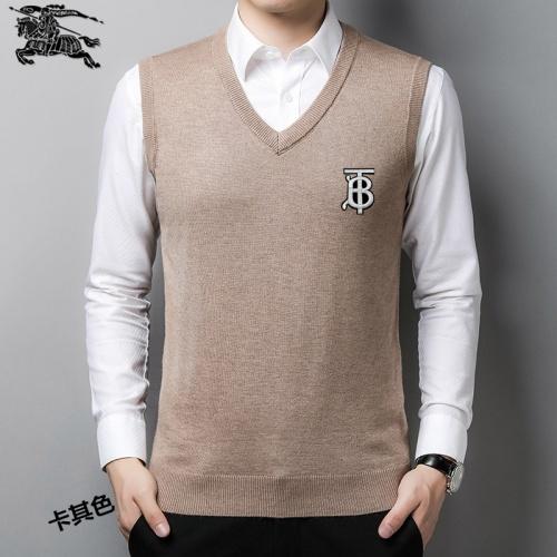 Burberry Sweaters Sleeveless V-Neck For Men #814488