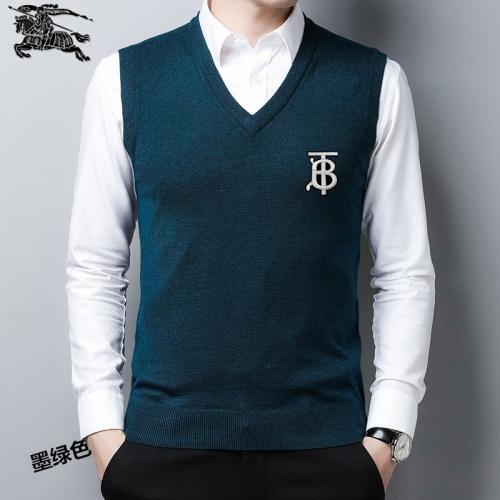 Burberry Sweaters Sleeveless V-Neck For Men #814489