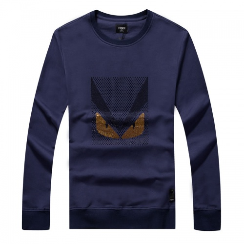 Fendi Hoodies Long Sleeved O-Neck For Men #814495