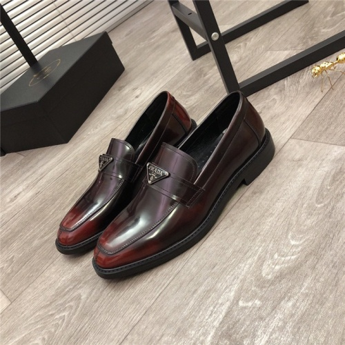 Prada Leather Shoes For Men #814513