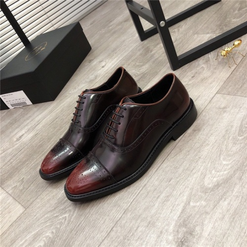 Prada Leather Shoes For Men #814515