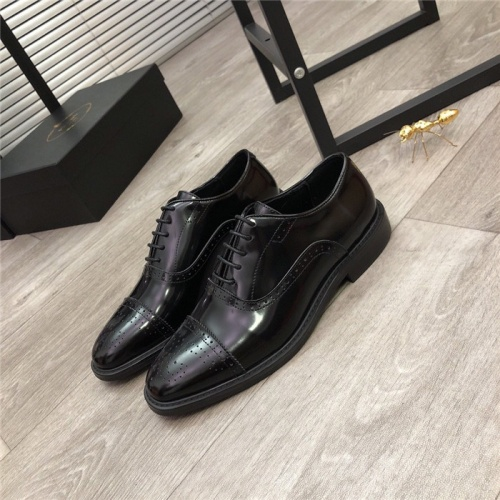 Prada Leather Shoes For Men #814516