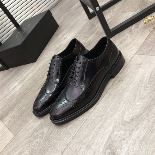 Prada Leather Shoes For Men #814518