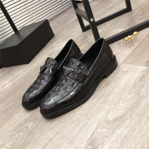 Prada Leather Shoes For Men #814519