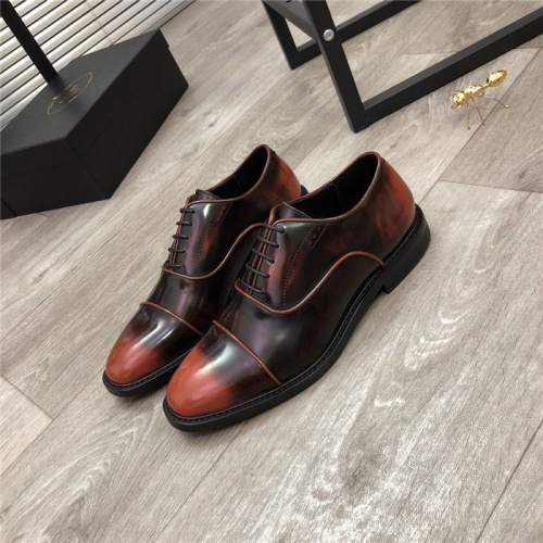 Prada Leather Shoes For Men #814521