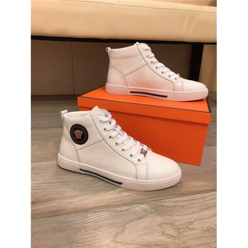Versace High Tops Shoes For Men #814525