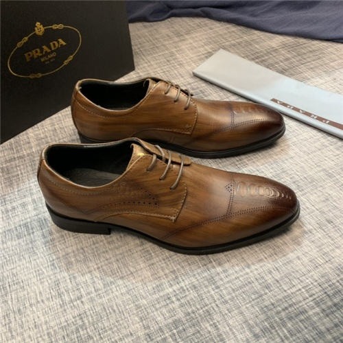 Prada Leather Shoes For Men #814548