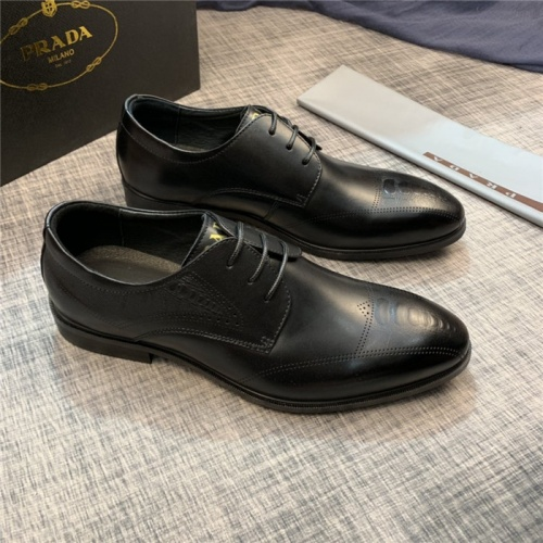 Prada Leather Shoes For Men #814549