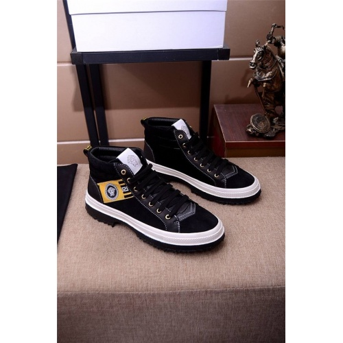 Versace High Tops Shoes For Men #814573
