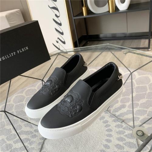Philipp Plein PP Casual Shoes For Men #814598 $72.00, Wholesale Replica Philipp Plein Shoes