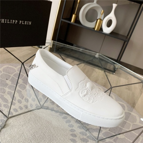 Replica Philipp Plein PP Casual Shoes For Men #814599 $72.00 USD for Wholesale