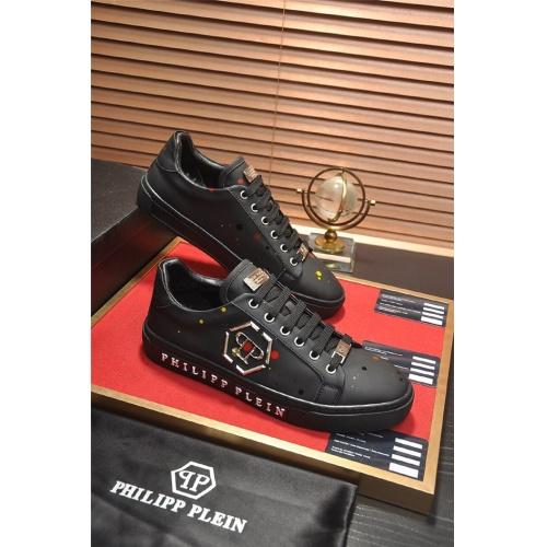 Philipp Plein PP Casual Shoes For Men #814627 $80.00, Wholesale Replica Philipp Plein Shoes