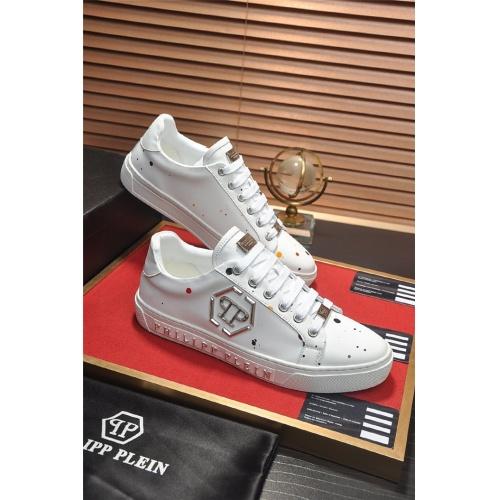 Philipp Plein PP Casual Shoes For Men #814628 $80.00, Wholesale Replica Philipp Plein Shoes