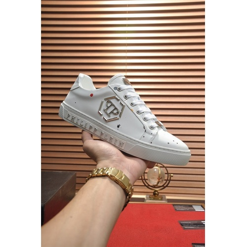 Replica Philipp Plein PP Casual Shoes For Men #814628 $80.00 USD for Wholesale
