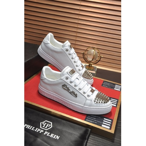 Philipp Plein PP Casual Shoes For Men #814630 $80.00, Wholesale Replica Philipp Plein Shoes