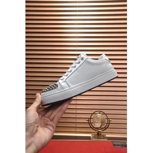 Replica Philipp Plein PP Casual Shoes For Men #814630 $80.00 USD for Wholesale