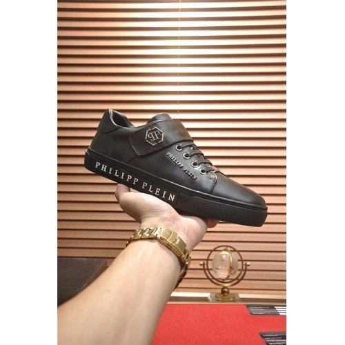 Replica Philipp Plein PP Casual Shoes For Men #814631 $80.00 USD for Wholesale
