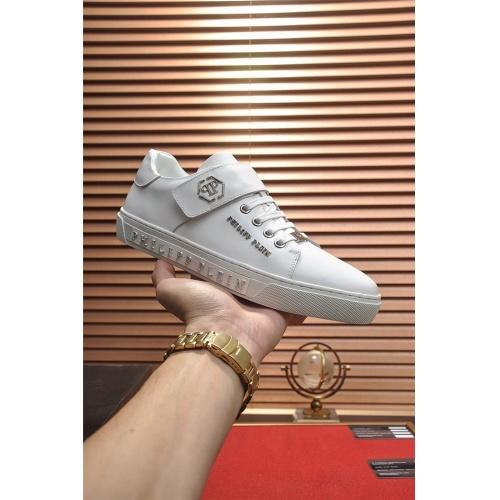 Replica Philipp Plein PP Casual Shoes For Men #814632 $80.00 USD for Wholesale