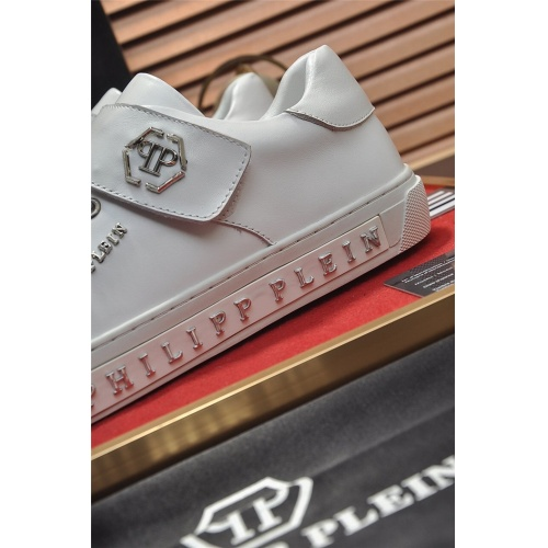 Replica Philipp Plein PP Casual Shoes For Men #814632 $80.00 USD for Wholesale